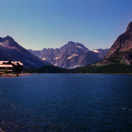 Waterton Lakes Lodge on Waterton Lake in Waterton Lakes National Park.