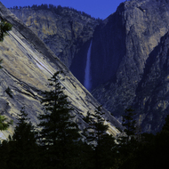 Yosemite Falls from afar.