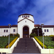 Founder's Hall at Humboldt State University, California.