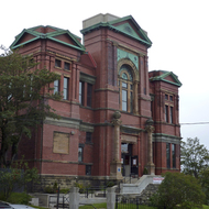 The Masonic Temple in St. John's, Newfoundland.