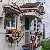 A stylish home in St. John's, Newfoundland.