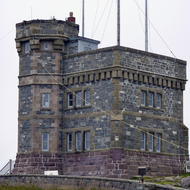 Cabot Tower at Signal Hill, St. John's, Newfoundland.