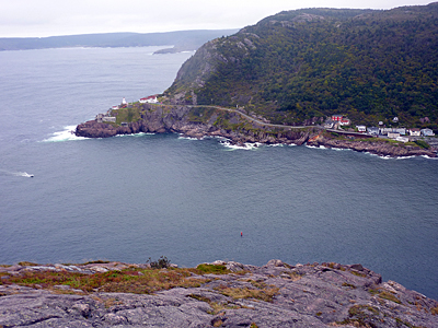 Thumbnail image of The entrance to the harbor at St. John's, Newfoundland...