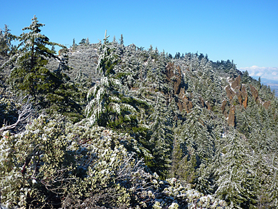 Thumbnail image ofCrags near the top of Mount St. Helena.