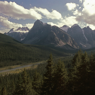 The amazing Rocky Mountains in Glacier National Park.