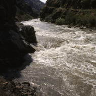 The Snake River in Hells Canyon.