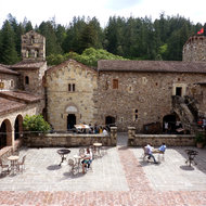 The Castello di Amaroso in Napa Valley.