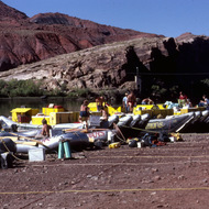 Putting in Grand Canyon river trips at Lee's Ferry.