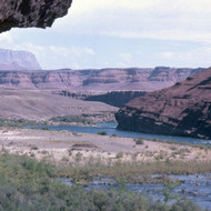 The Unkar Delta area of the Grand Canyon.