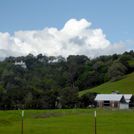 The Montini Ranch from the Montini Open Space Preserve in Spring.