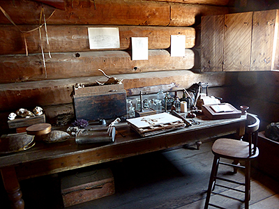 Thumbnail image ofHistoric artifacts at Fort Ross State Historic...