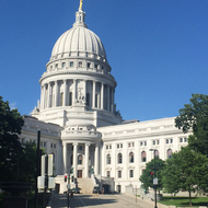 The Wisconsin State Capitol in Madison.