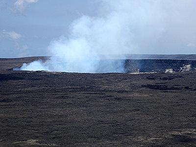 Thumbnail image ofThe Halema'uma'u Crater at the Hawai'i Volcanoes...