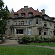 The Pittock Mansion overlooking Portland, Oregon.