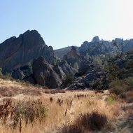 Pinnacles National Park in California.