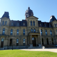 The New Brunswick Legislative Building in Fredericton.
