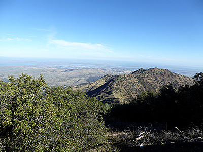 Thumbnail image of A view from Mount Diablo in California.