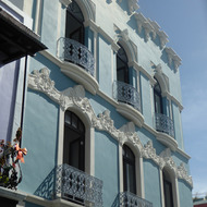 A beautiful old building in old San Juan.