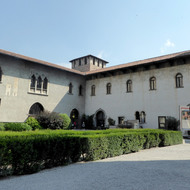 The Museo di Castelvecchio in Verona, Italy.