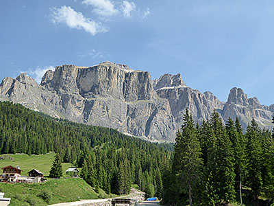 Thumbnail image ofA view of the Dolomites in Italy.