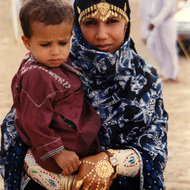 Omani Mother and Child - Bidiyah, Oman