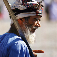 Man with Sword - Nahkl, Oman
