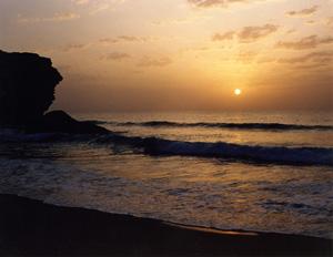 Thumbnail image ofCoastal sunset - Ras Al Junayz, Oman.