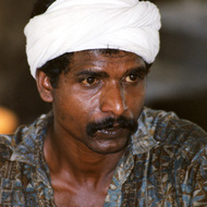 Indian Halwa Worker - Barka, Oman