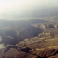 Mountains From the Air - Jebal Akhdar, Oman