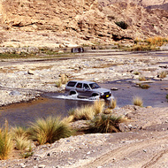Stream Crossing - Wadi Dayquah, Oman