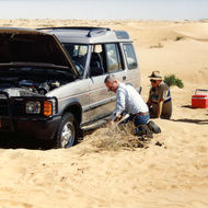 Stuck - Wahiba Sands, Oman