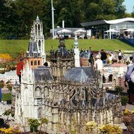 Cathedral Miniature - Madurodam, the Hague, the Netherlands