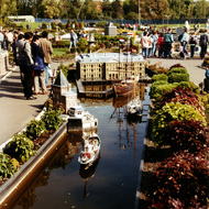 Dutch Maritime Museum Miniature - Madurodam, the Hague, the Netherlands