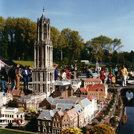 Utrecht Cathedral Tower Miniature - Madurodam, the Hague, the Netherlands