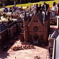 Het Binnenhof Miniature - Madurodam, the Hague, the Netherlands