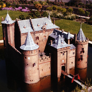 Muiderslot Castle Miniature - Madurodam, the Hague, the Netherlands