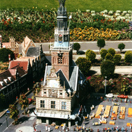 Cheese Market Miniature - Madurodam, the Hague, the Netherlands