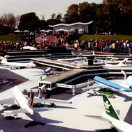 Schiphol Airport Miniature - Madurodam, the Hague, the Netherlands