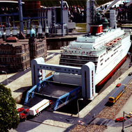 Holland America Line Miniature - Madurodam, the Hague, the Netherlands