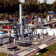 Esso Refinery Miniature - Madurodam, the Hague, the Netherlands