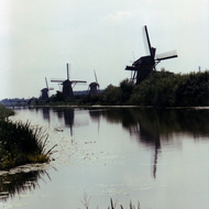 Windmills - Kinderdijk, the Netherlands
