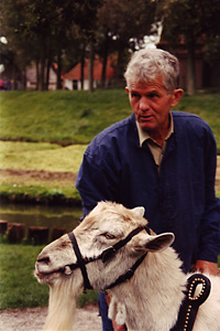 Thumbnail image of Farmer and His Goat - Enkhuizen, the Netherlands