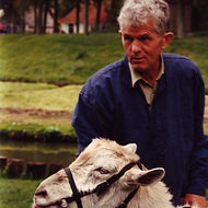 Farmer and His Goat - Enkhuizen, the Netherlands