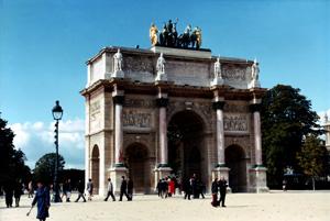 Thumbnail image ofArc de Triomphe du Carrousel - Paris, France