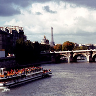 Tour Boat on the Seine - Paris, France