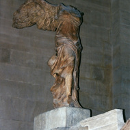 Winged Victory of Samothrace - The Louvre, Paris