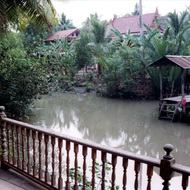 View from Porch - Damnern Saduak, Thailand