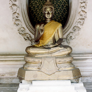 Buddha at Nakorn Pathom Temple, Thailand