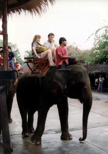 Thumbnail image ofElephant Ride, Rose Garden Pavilion - Nakorn Pathom,...