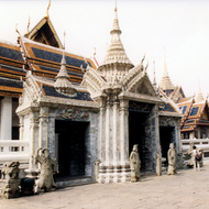 Grand Palace, Amarindra Hall, the Coronation Chamber - Bangkok, Thailand